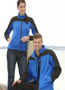 Contrast Soft Shell Jacket