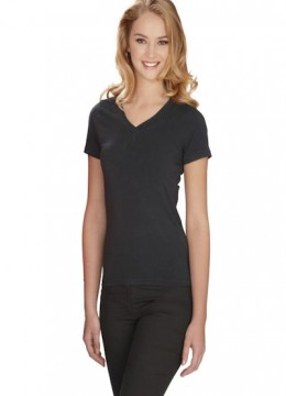 'V' Neck Stretch Tee