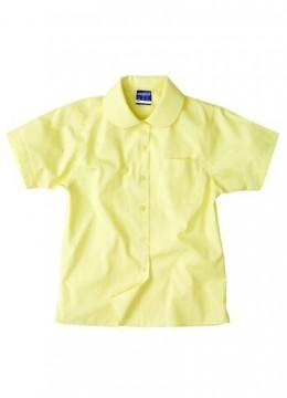 Girls S/S Peter Pan Shirt