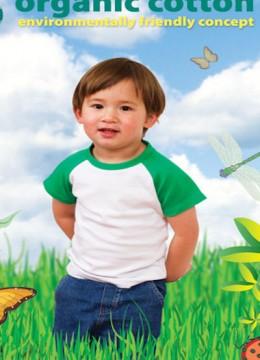 Organic Cotton Raglan T-shirt