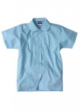 Girls S/S Pin Tuck Shirt