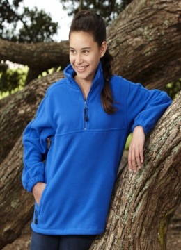 Kids 1/2 Zip Poly Fleece