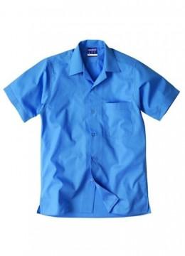 Boys S/S Open Neck Shirt