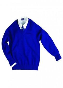 V-Neck Wool Pullover