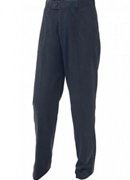 Flat Front Cotton Pants