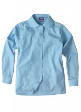 Girls L/S Pin Tuck shirt