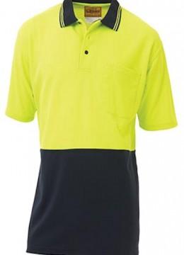 2 Tone Hi Vis Polo Shirt S/S