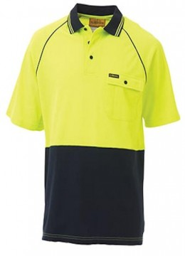 Lightweight Hi Vis Polo S/S